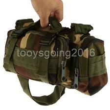 Camo Tactical Military Camping Molle Rucksack Shoulder Hand Bag Pouch Tote