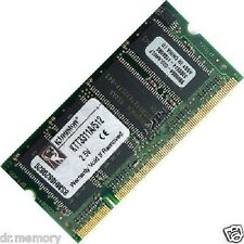 512 mo (1x512MB) DDR-266 PC2100 portable (sodimm) mémoire ram kit 200-pin