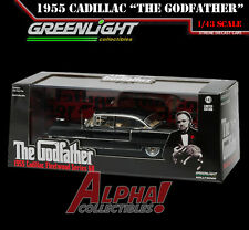 GREENLIGHT 86492 1:43 THE GODFATHER 1955 CADILLAC FLEETWOOD SERIES 60