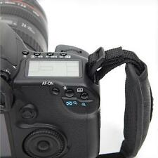 Black Wrist Strap Camera Hand Grip Leather for Canon Nikon Sony Olympus SLR DSLR