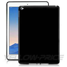 For Apple iPad Air 2 iPad 6 Slim Black Soft TPU Back Case Protective Cover Shell