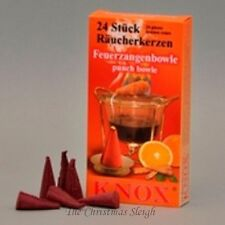 KNOX German Incense for Smoker Rauchermann Raucherkerzen Fruit Punch Bowl 2 PACK