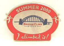 HARBOR BRIDGE CLIMB CLIMBED IT SYDNEY OLYMPIC GAMES 2000 PIN BADGE COLLECT #117