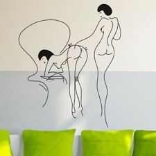 Japanese Girls Abstrakt naked Wandtattoo Wallpaper Wand Schmuck 50 x 60 cm