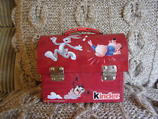 TINS.  Collectable.  Looney Tunes Money Box / Treasure Chest by Kinder