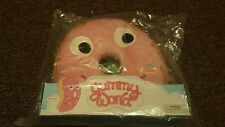 """kidrobot YUMMY WORLD New 10"""" Deluxe PINK DONUT PLUSH Wave 2 Collectible LTD"""