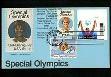 Ranto Cachet US FDC #3771 on 1788 w/ 2142 Special Olympics sports Winter 2003