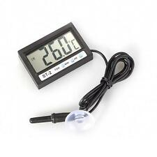 Car LCD Digital Display Thermometer Indoor Outdoor Temperature Measure Clock
