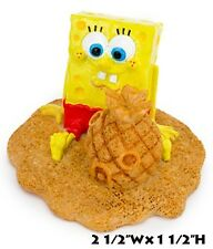 SpongeBob Squarepants with Pineapple Home Sandcastle Aquarium Ornament SBR52