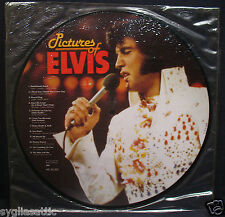 ELVIS PRESLEY-PICTURES OF ELVIS-FULLY SEALED PICTURE DISC-IMPORT-ROCKABILLY