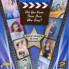 DID YOU KNOW THESE STARS ALSO SANG? AVA GARDNER, BETTE DAVIS - 2 CD NEU