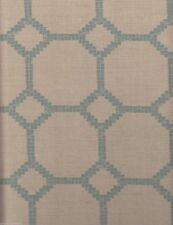 6 yds Jim Thompson Upholstery Fabric Mosaica II Aqua Cream 2047/03 OH1