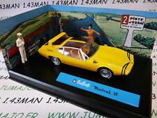 voiture altaya IXO 1/43 diorama BD MICHEL VAILLANT : MISTRAL GT n°14