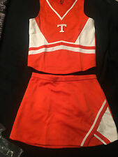 New Adult Tennessee Volunteers cheerleading outfit costume Halloween Med orang