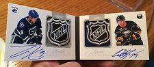 2011/12 Dominion 1/1 Rookie Booklet Shield Auto Hodgson Kassian Edmonton Oilers