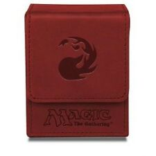 ULTRA PRO MTG Magnetic Flip Deck Box *RED MATTE* Magic the Gathering