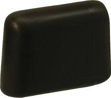 2 Möbelgleiter Kunststoff Gleiter Stuhlgleiter Tischgleiter für Ovalrohr*103-sw