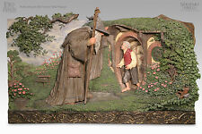 Sideshow Weta A MEETING OF OLD FRIENDS WALL PLAQUE Lord of the Rings LotR Hobbit