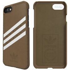 adidas Originals Apple iPhone 7 Moulded Case Suede khaki white