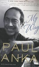 My Way : An Autobiography by David Dalton and Paul Anka (2014, Paperback)