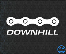 "DOWNHILL TRAILS MTB Sticker 3"" 82mmW Mountain bike Car Van Giant GT RockShoX"