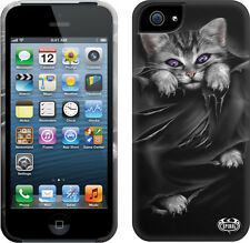 Spiral Direct BRIGHT EYES Apple iPhone 5/5S Mobile Phone Case/Cover, goth/kitten