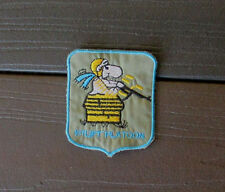 VIETNAM WAR PATCH-US ARMY 120th AHC 1st Lift Platoon Snoopy