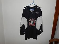 Vintage NY New York Rangers Statue of Liberty Reebok CCM Jersey XL NHL