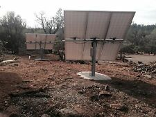 "Solar panel pole mount/holds 6 large panels/fits a 6"" pipe. Bracket only."