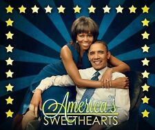 """Barack & Michelle """"America's Sweethearts"""" Personal Size Poster (12"""" x 10"""")"""