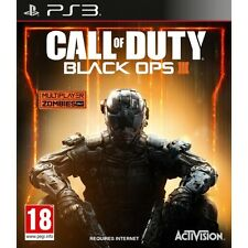 Call OF DUTY BLACK OPS 3 III Gioco PS3-NUOVO di zecca!