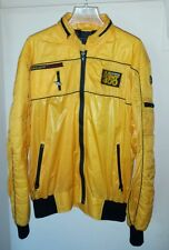 Vintage Style Auto Jacket Las Vegas Mint 400 Desert off road race mens XL yellow
