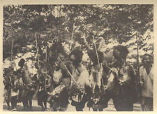 1920S PHOTO OF TRADITIONAL TRIBES PEOPLE DANCING - MOZAMBIQUE