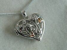Clogau Sterling Silver & 9ct Welsh Gold Small Tree of Life Fairy Locket