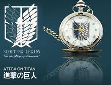 Japanese anime, Attack on Titan, Wings of Liberty ,Pocket Watch, Nice gift