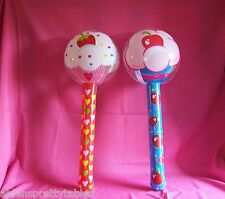 2 Lollipop Sucker Inflate inflatable kids Birthday Cupcake CANDY 3 foot prop