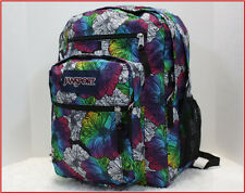 Jansport BIG STUDENT Backpack - XL x-large OMBRE FLORAL Purple Blue Yellow *NEW*
