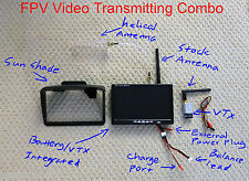 FPV Video Combo 5.8G Transmitter Receiver Monitor Antenna DJI Phantom RC Cars