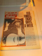 MELODY MAKER 1978 MARCH 25 ELO TUBES DON WILLIAMS ELVIS COSTELLO