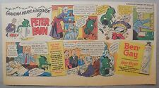 Ben-Gay Ad: Peter Pain: Grandma Makes Mincemeat ! 7.5 x 14 inches