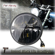1x Motocycle 7 inch Projector Day Maker Hid LED Light Bulb Headlight For Harley