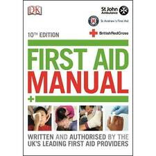 10th Edition First Aid Manual Book - 2016 Update - St John Ambulance / Red Cross