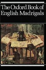 The Oxford Book of English Madrigals