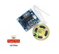 ISD1820 Audio Sound Recording Module with Microphone AND Speaker Arduino Pi