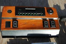 1986 Jaguar Car Parts-Interior Dash Wood Plate W/Radio Switch Assy.& Switches
