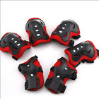 6pcs EVA + Plastic Sponge Protective Pad for Kids Roller Skating Knee Elbow Wris