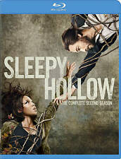 BLU-RAY Sleepy Hollow: Complete Second Season (Blu-Ray, 4-Disc Set) NEW