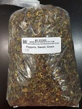 DEHYDRATED SWEET DICED BELL GREEN PEPPERS 1 lb BAG $20.00 FREE SHIPPING