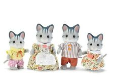 Calico Critters Fisher Cat Family ~NEW~