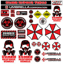 R/C 1:10 Scale ZOMBIE Decal Sticker Pack Set Body Axial SCX10 Wraith Crawler RC
